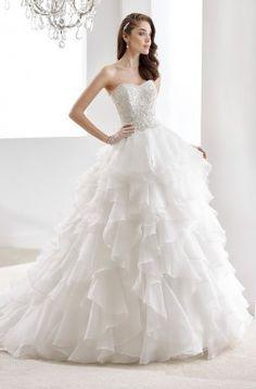 Jolies by Nicole Spose 2016 Wedding Dress 2016 Wedding Dresses, Le Jolie, Bridal Fashion Week, French Lace, Wedding Gallery, Bridal Collection, One Shoulder Wedding Dress, Ball Gowns, Chiffon