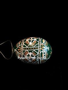 Traditional Pysanky Pysanka Chicken Egg by PysankyByDonnaJ on Etsy