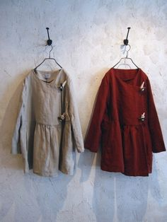 toggle button linen gather shirt jacket