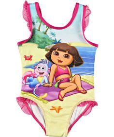 "Dora the Explorer ""Beach Blanket Dora"" 1-Piece « Clothing Impulse"