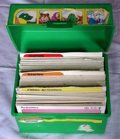 always wanted one of these      This Sweet Pickles set amused me for hours when I was 3 or so. I'd spread all the cards out on the living room floor. :)