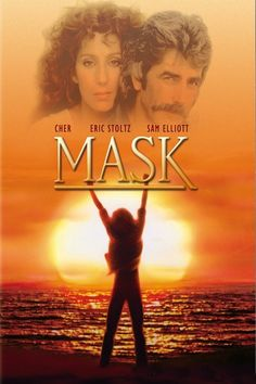 Mask is a 1985 American drama film directed by Peter Bogdanovich, starring Cher, Sam Elliott, and Eric Stoltz. Dennis Burkley and Laura Dern are featured in supporting roles. Cher received the 1985 Cannes Film Festival award for Best Actress. Film Movie, See Movie, 80s Movies, Drama Movies, Good Movies, Saddest Movies, Drama Film, Troy Movie, Watch Movies