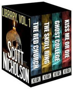 The eReader Cafe - Bargain Book, #kindle, #ebooks, #horror, #suspense, #scottnicholson