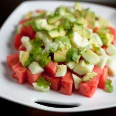 A delicious summer salad