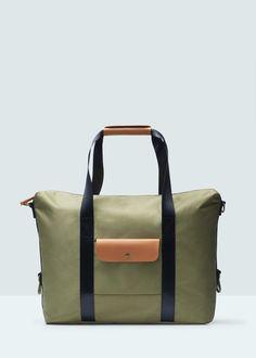 Pocket tote bag by Mango Mango Sale, Mens Tote Bag, Graduation Project, Man United, Men Style Tips, Messenger Bag, Gym Bag, Satchel, Mens Fashion