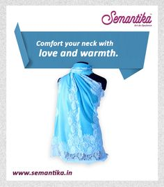 Flaunt your ethnic side with this exquisite Semantika stole. ‪#‎WinterFashion‬ ‪#‎Semantika‬ ‪#‎Stole‬ Shop Now: www.semantika.in