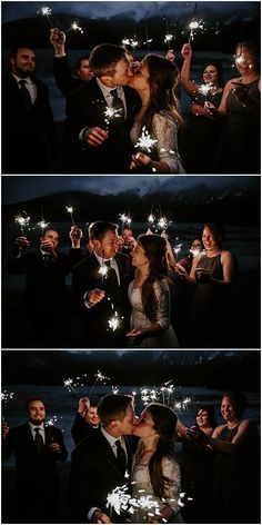 Winter Pyramid Lake Resort Wedding in Jasper, Alberta. Country Wedding Groom, Wedding Couples, Wedding Bride, Farm Wedding, Wedding Ideas, Night Wedding Photos, Candid Wedding Photos, Wedding Night, Bride And Groom Pictures