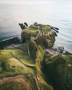 Dunnottar Castle, Scotland. My favorite ruined castle. It was so cool.