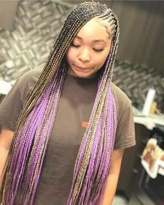 2020 Recommended Color Box Braid Styles In 2020 Braided Hairstyles Braided Hairstyles For Black Women Hair Styles
