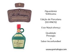 Brandy VELHÍSSIMA - Porcelain Edition 10 years Offer quality, prestige and unmistakable flavour with Portulogia. www.portulogia.com #Portugal #Portulogia #wine #aguardente #brandy