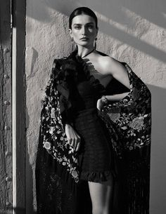 Vogue Spain March 2017 Andreea Diaconu by Miguel Reveriego - Fashion Editorials