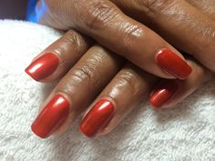 "CND Shellac ""Fine Vermillion"" from the NEW ""Modern Folklore"" collection"