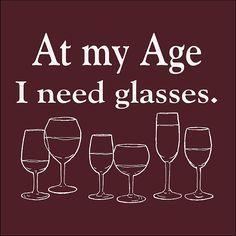 ...of good wine! ;-)