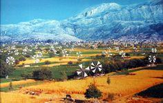 Lassithi Plateau Windmills~Crete~