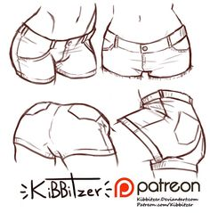 Shorts Reference sheet -PREVIEW- | kibbitzer on Patreon
