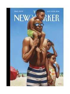 The New Yorker Cover - July 11, 2016 Regular Giclee Print by Kadir Nelson at Art.com