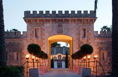 Cap Rocat in Spain is a former military fortress located in the most secluded area of the bay of Palma de Mallorca. Stunningly blended into the landscape, this magnificent fortress has been totally refurbished without altering its unique architecture and its natural environment.  It's home to a luxury hotel with spa and wellness center, fine dining and impeccable amenities.