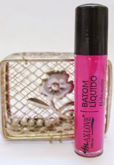 charme bella: Batom Líquido Rosa Amarante Max Love