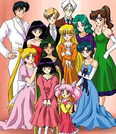 Bishoujo Senshi Sailor Moon Sailor Senshi