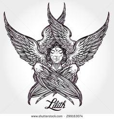 lilith symbol - Google Search