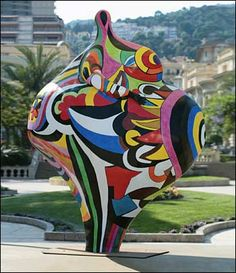 Niki De ST PHALLE, une artiste entre joies et tourments… | The ...
