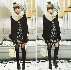 that scarf might make me yearn for a little more winter...maybe...? probably not, but still a good look head-to-toe