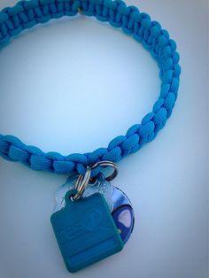 Medium Paracord Dog Collar by animeadara on Etsy, $14.99