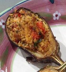 Cuochi per caso...o per forza!!: MELANZANE RIPIENE DI RISO da La Prova del Cuoco