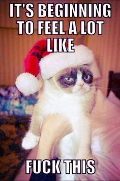 i hate christmas   Retail Grinch - i fucking hate christmas   o ...