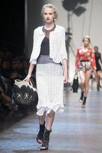 Dolce & Gabbana crochet.