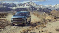 Новый Chevrolet Tahoe. Chevrolet выводит на рынок РФ Tahoe нового поколения. Машина представлена в нашей стране с безальтернативным 5,3-литровым V8 мощностью 343 силы в паре с 10-ступенчатой АКПП. На выбор предложены 2 комплектации и 9 цветов кузова, а цены, в зависимости от уровня оснащения, ва Chevrolet Suburban, Chevrolet Tahoe, General Motors, Ford Expedition, Diesel Cars, Diesel Engine, Silverado 1500, 4x4, Chevy Duramax
