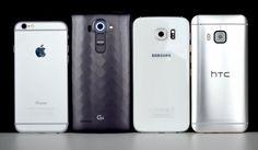 Best smartphone of 2015 so far: iPhone 6 vs Samsung Galaxy S6 vs HTC One M9 vs LG G4