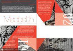 Macbeth Magazine Layouts