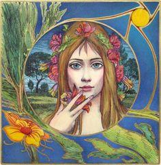 Flower Girl / Ernst Fuchs / Embodied <3