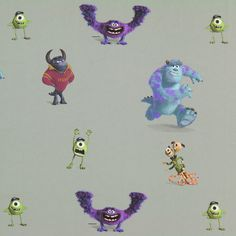 Tela decorativa Disney, Monsters 1 -4,50€/m