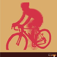 "scanimation of ""cycling"""