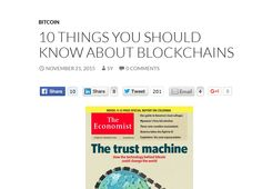 Interesting points, with good links http://www.sytaylor.net/2015/11/21/10-things-you-should-know-about-blockchains/#sthash.ker7Inwv.6jK702pN.dpbs