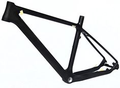 Full Carbon Matt 26er Mountain Bike MTB Cycling BSA Frame 17' ** You can find more details by visiting the image link.