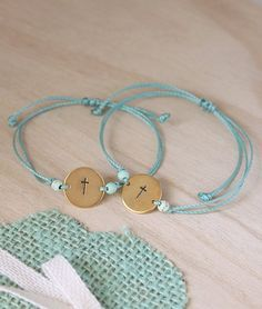 artbeat.gr   Ορείχαλκος σταυρός Christening Bracelets, Childrens Party, Beaded Bracelets, Charmed, Jewelry, Weddings, Diy, Bracelets, Gift Boxes