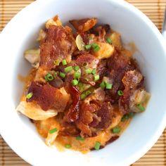 Loaded Buffalo Chicken Casserole – Predominantly Paleo food