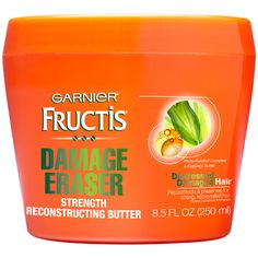 Best Deep Conditioners For Hair Type - Best for coarse hair Garnier Fructis Damage Eraser Strength Reconstructing Butter, $5.99