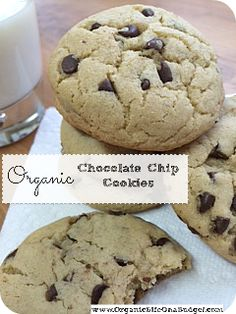 "I added ""Organic Chocolate Chip Cookies"" to an #inlinkz linkup!http://organiclifeonabudget.com/organic-chocolate-chip-cookies/"
