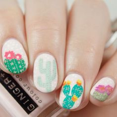 15 Short Nail Ideas for Flawless Summer Nails via Brit + Co
