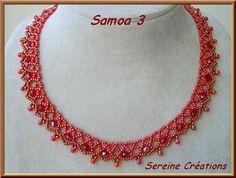 Collar Samoa de Seriene.  Click on the site's name and get a pdf tutorial.