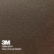 3M 1080 Wrap vinyl Gloss Charcoal Metallic