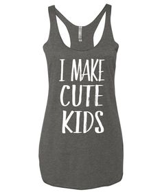 i make cute kids maternity tank top, Funny maternity tank, Pregnancy Announcement Tank Top Shirt, Cute Pregnancy Announcement Ideas