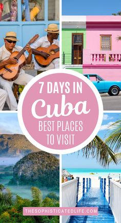 How I Spent 7 Days in Cuba! - - Are you looking for the perfect itinerary for your trip to Cuba? Here is a synopsis of how I spent 7 days in Cuba visiting Havana, Vinales & Trinidad! Cool Places To Visit, Places To Travel, Travel Destinations, Holiday Destinations, Vinales, Camilla Parker Bowles, Prince Charles, Travel Guides, Travel Tips