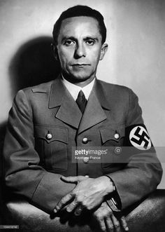 Portrait On October 26 1941 Of Joseph Goebbels (1897-1945), At The Time Of The 15Th Anniversary Of His Nomination By Hitler, To The Post Of Police Chief To The Direction Of Gau (Area) Of Berlin, At The End Of August 1926.
