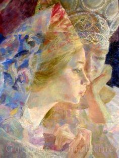Georgy Shishkin Painting, Art, Art Background, Painting Art, Kunst, Paintings, Performing Arts, Painted Canvas, Drawings