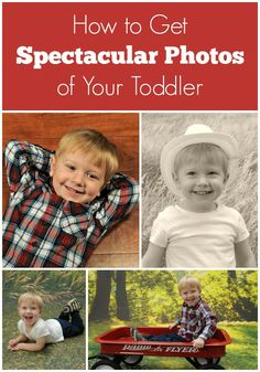 These 5 toddler photo tips will help you get the perfect shot of your toddler or preschooler!
